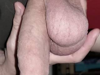 Package pushed through the milking table as I laid down on it for the first time. How erotic to have a woman touch, kiss, lick and suck it all without me being able to see anything she\'s doing, while I relax and she works my cum to a boil!