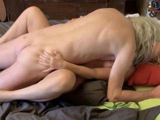 Even if I love to get taken from behind sometimes it's fine to be fucked in missionary . Spreading my legs wide open and invite a cock with my juicy pussy feels really good.