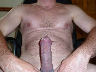 Damn boy, i want to ride that cock till make you explode and cum inside of my tight pussy. I want to feel your body shaking with mine as both cum...