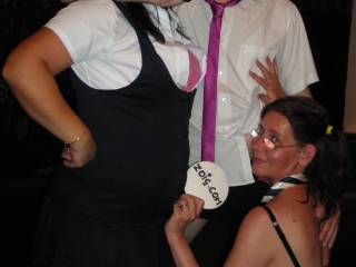 These naughty school girls will do anything to get teacher\'s attention..... both mrs cymrucouple and mrs acoupleinlove were all to willing to be hands on in detention ...well whats a man to do? lol