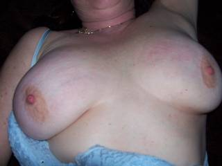 I would love to suck your beautiful nipples before fucking your wonderful tits