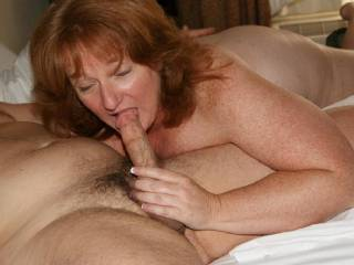 May I share that Hard WHITE Cock with you?  Love and Kisses, Maryann