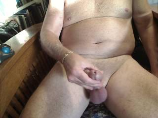 Very Nice ! ! ! Wish I was there sucking your Gorgeous Cock and taking that load !   ! !