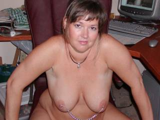 Sexy mature secretary. Can she help you?