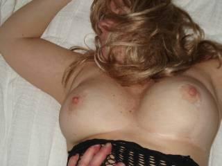Young stud using my MILF. Would you cum in my Sluty girl if she let you?