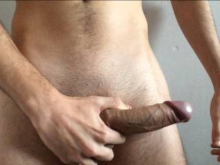 This veiny cock needs some relief..