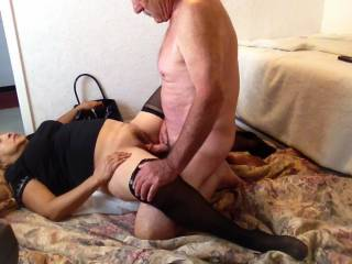 pulling the cream pie out