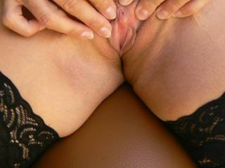 mm sezy swollen clit... love to slowly tease my way up your thighs .. kissing and nibbling .. waiting for your pussy to start throbbing with inpatience... before circling you with the tip of my tongue until im gently sucking on your hot clit