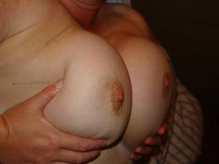 Stunning Boobs and big ones are so much more fun! Very Sexy! xxx