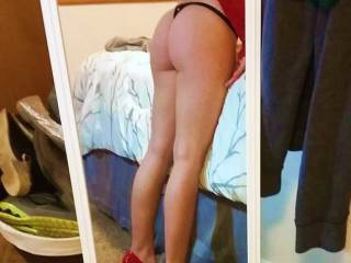 Do you think He will like my new heels?
