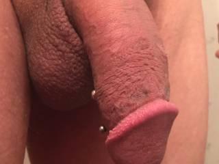 Just my pierced dick hope you like