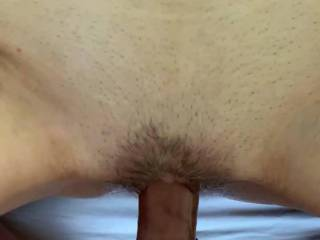 What a beautiful pussy. Fucking her never gets old - tastes and feels amazing. You should be so lucky!
