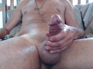 oohh my cock is so hard and ready to cum for you...