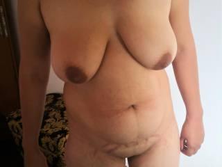 Nice body of young girl.