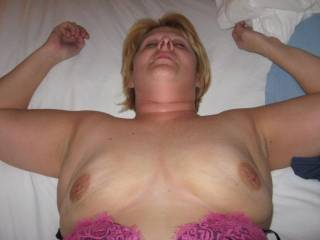 she is a really nice lady. i love her tits