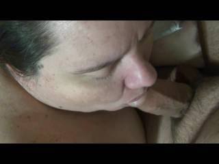 My cock is just like yours....you think she would like sucking mine like that?