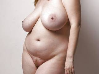 love to have such comfort beneath me,gorgeous tits and belly. is the pussy as big ?