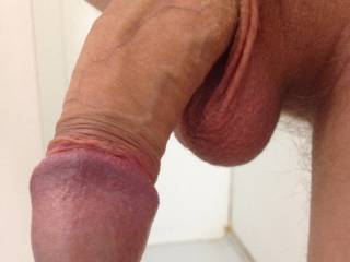 That is the perfect state for me to take your cock balls deep in my mouth and feel that big head spreadig my throat open as it fully hardens.
