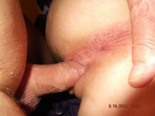 Love to fuck her - thrusting my cock inside abusing her for my pleasure.