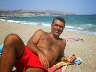 Me on the Beach Back Sea