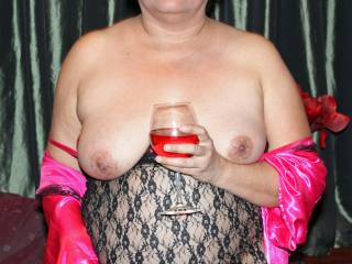 Getting a little buzzed and a whole lotta horny!