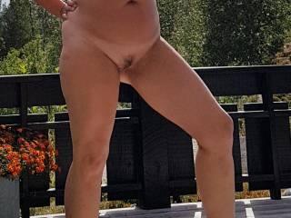 I like to get naked outdoor. Do you like it?