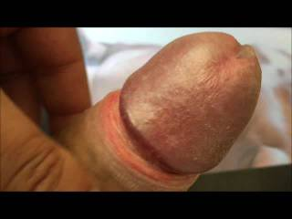 Looking at your sexy nude pics always make me cum! In this cum-tribute vid you\'ll see a little sweet cumshot before the rest of the cum flows over your sexy nude body...