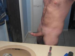 Picture of my dick after morning sex!!