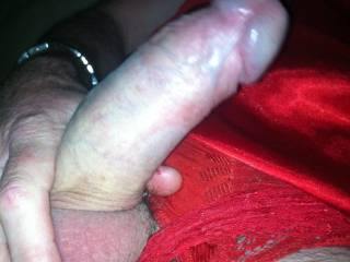 Red lingerie brings out the slut in me... x