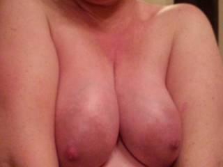 Pregnant titties