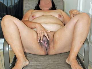 LOve to just get down in front odf that hole and tongue fuck the pussy and ass hole. yummy thnx