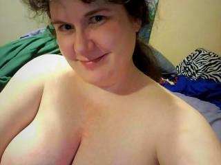Tara showing off her beautiful tits. Wouldn't her face look better with a load of your cum across it?