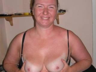 My white tits