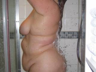 Just the way I like em....fresh out the shower.....and yes.....