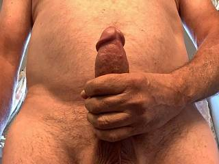 Just stroking my cock to the lovely ladies on here