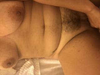 Just giving her a.morning fuck balls deep and bareback