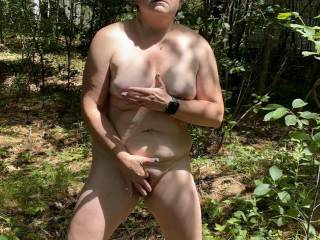 Taking a walk around the yard on a nice day hoping the neighbors will see me! What would you do if you saw me? I just couldn't help myself I had to make myself cum! I was so excited knowing I could be seen by someone at any second!