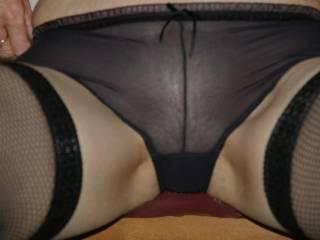 Close up can you see through my panties?