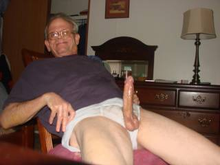 Wow! I love the size of your cock. I would love to sit and just look at it while you play with it. Paco