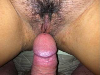 Mmmm.....let me put my mouth over both of you at the sametime, licking and sucking till you both cum, then slide my cock in her hot creamy little pussy