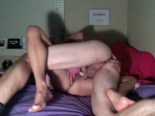 One of guys Mrs. plays with will stop fucking her, finger her to orgasm then plunge his cock back into her as she's lost in orgasm.    She loves that.  Looks like you do too
