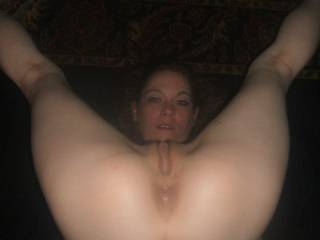 Mmmm, how I'd luv to tongue fuck your hot ass while I fuck that sweet tasty pussy with a toy & tease & pleasure your clit with me finger tips... ;-)