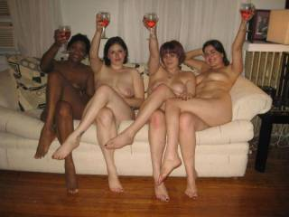 Hey girls, need a guy to pour your wine? thats so hot and sexy Girls. Wow what a fantasy that would be......