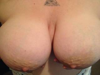 I want to slap my cock against those goddess tits, letting the precum drip out of my cock onto your nipples, feeding your nipple to my mouth to taste myself off u