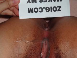 Yes when I see your wonderful pussy. I would love to swallow all your juice. (the male) xxxx