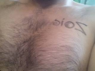 My hairy chest ,Hello  Zoig people