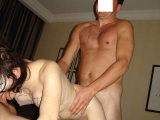 very hot woman, lucky guys...I'd make my way to NY for that hehe