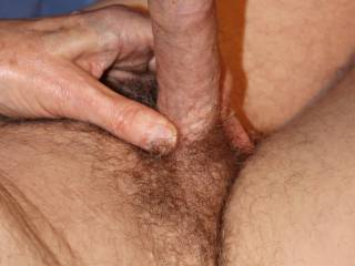 I would love to brush my swollen glans across your clit a few times before you slide down onto \'Him\' and wrap your vagina tightly around \'Him\' so that we can fuck.