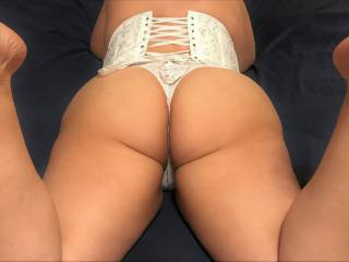 Want to see more of me in white lingerie