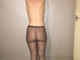 Ass in tights